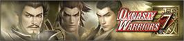 Banner artwork for Dynasty Warriors 7.