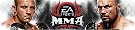 Banner artwork for EA SPORTS MMA.