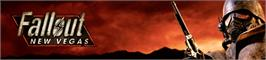 Banner artwork for Fallout: New Vegas.