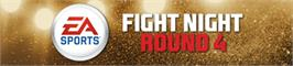 Banner artwork for Fight Night Round 4.