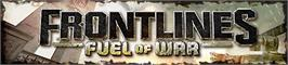 Banner artwork for Frontlines:Fuel of War.