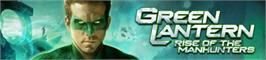 Banner artwork for Green Lantern.