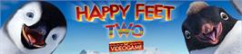 Banner artwork for Happy Feet Two: The Videogame.