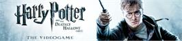 Banner artwork for Harry Potter and the Deathly Hallows - Part 1.