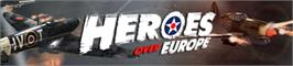 Banner artwork for Heroes Over Europe.