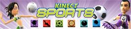 Banner artwork for Kinect Sports.