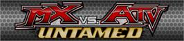 Banner artwork for MX vs. ATV: Untamed.