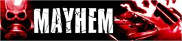 Banner artwork for Mayhem.