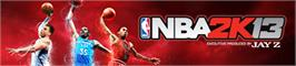 Banner artwork for NBA 2K13.