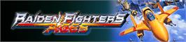 Banner artwork for RAIDEN FIGHTERS ACES.