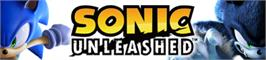 Banner artwork for SONIC UNLEASHED.