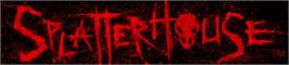 Banner artwork for SPLATTERHOUSE®.