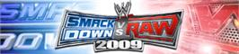 Banner artwork for SmackDown vs. RAW 2009.
