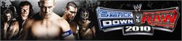 Banner artwork for SmackDown vs. RAW 2010.