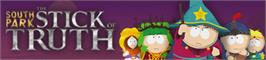 Banner artwork for South Park: The Stick of Truth.