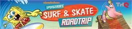 Banner artwork for SpongeBob's Surf & Skate Roadtrip.