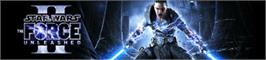 Banner artwork for Star Wars: The Force Unleashed II.