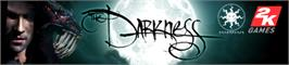 Banner artwork for The Darkness.