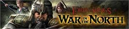Banner artwork for The Lord of the Rings: War in the North.