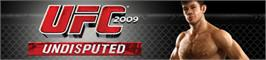 Banner artwork for UFC 2009 Undisputed.