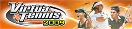 Banner artwork for Virtua Tennis 2009.