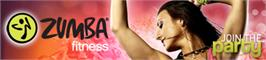 Banner artwork for Zumba Fitness.