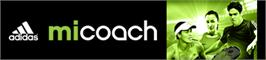 Banner artwork for miCoach.