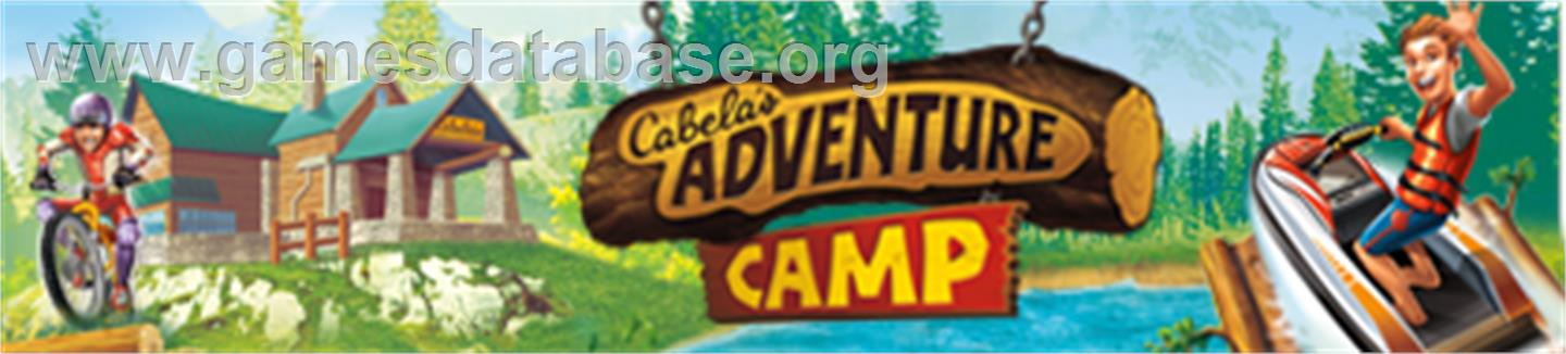 Adventure Camp - Microsoft Xbox 360 - Artwork - Banner