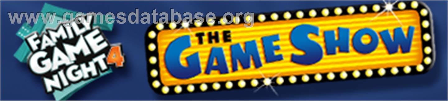 Family Game Night 4: The Game Show - Microsoft Xbox 360 - Artwork - Banner
