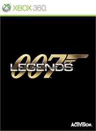 Box cover for 007 Legends on the Microsoft Xbox 360.