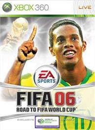 Box cover for 2006 FIFA World Cup on the Microsoft Xbox 360.