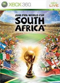 Box cover for 2010 FIFA World Cup on the Microsoft Xbox 360.