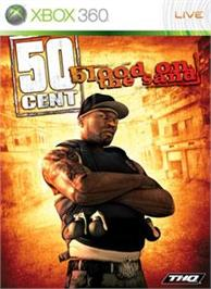 Box cover for 50 Cent: BotS on the Microsoft Xbox 360.