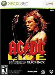 Box cover for AC/DC LIVE: Rock Band on the Microsoft Xbox 360.