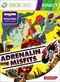 Box cover for ADRENALIN MISFITS on the Microsoft Xbox 360.
