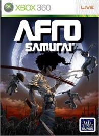 Box cover for AFRO SAMURAI on the Microsoft Xbox 360.