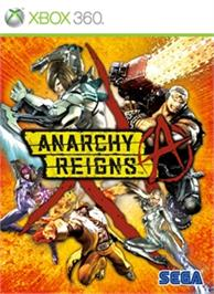 Box cover for ANARCHY REIGNS on the Microsoft Xbox 360.
