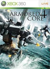 Box cover for ARMORED CORE4 on the Microsoft Xbox 360.