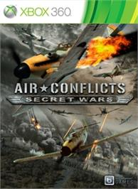 Box cover for Air Conflicts: Secret Wars on the Microsoft Xbox 360.