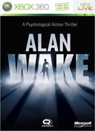Box cover for Alan Wake on the Microsoft Xbox 360.
