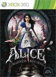 Box cover for Alice: Madness Returns on the Microsoft Xbox 360.