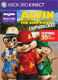 Box cover for Alvin and The Chipmunks: Chipwrecked on the Microsoft Xbox 360.