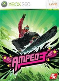 Box cover for Amped 3 on the Microsoft Xbox 360.