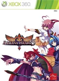 Box cover for Arcana Heart 3 on the Microsoft Xbox 360.