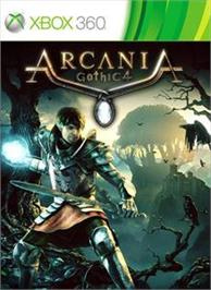 Box cover for ArcaniA - Gothic 4 on the Microsoft Xbox 360.