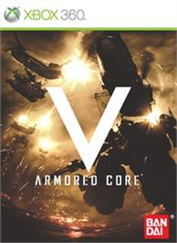 Box cover for Armored Core V on the Microsoft Xbox 360.