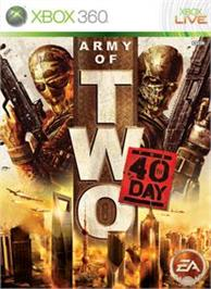 Box cover for Army of TWO: TFD on the Microsoft Xbox 360.