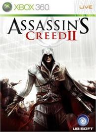 Box cover for Assassin's Creed II on the Microsoft Xbox 360.