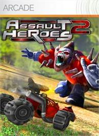 Box cover for Assault Heroes 2 on the Microsoft Xbox 360.