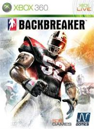 Box cover for BACKBREAKER on the Microsoft Xbox 360.